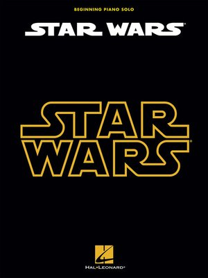 cover image of Star Wars for Beginning Piano Solo