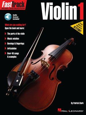 cover image of FastTrack Violin Method Book 1
