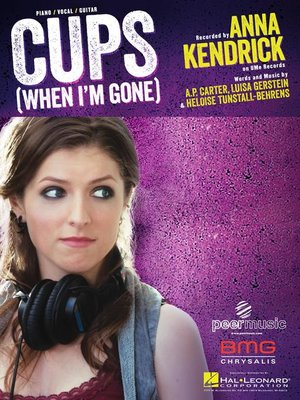 cover image of Cups Sheet Music