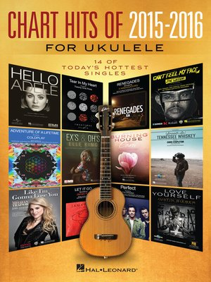 cover image of Chart Hits of 2015-2016 for Ukulele