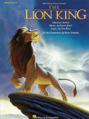 cover image of The Lion King Songbook