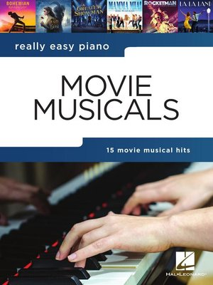 cover image of Really Easy Piano Songbook--Movie Musicals
