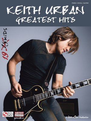 cover image of Keith Urban--Greatest Hits (Songbook)