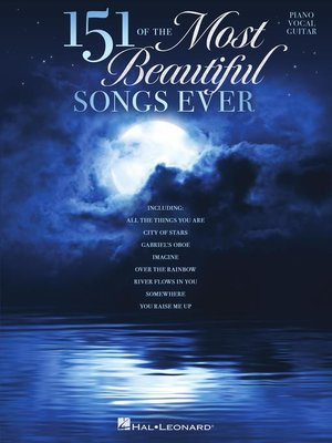 cover image of 151 of the Most Beautiful Songs Ever Songbook