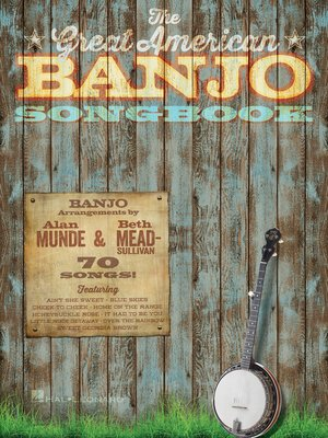 cover image of The Great American Banjo Songbook