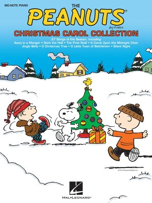 cover image of The Peanuts Christmas Carol Collection (Songbook)