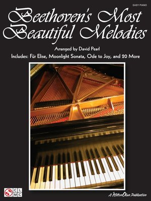 cover image of Beethoven's Most Beautiful Melodies (Songbook)