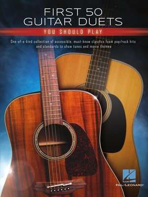 cover image of First 50 Guitar Duets You Should Play