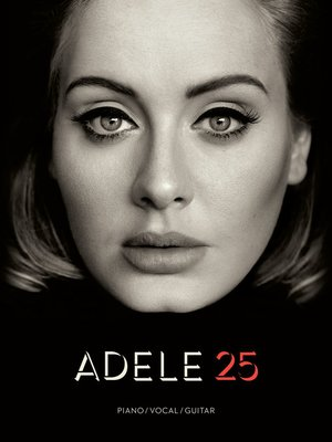 cover image of Adele--25 Songbook
