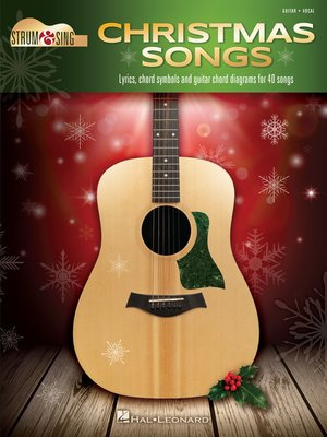 cover image of Christmas Songs--Strum & Sing Guitar