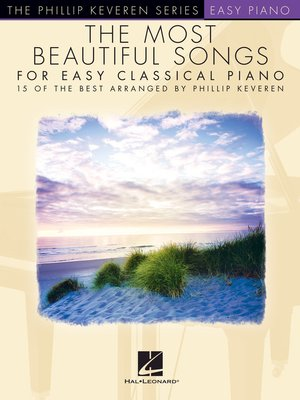 cover image of The Most Beautiful Songs for Easy Classical Piano