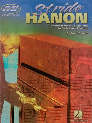 cover image of Stride Hanon (Music Instruction)
