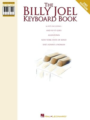 cover image of The Billy Joel Keyboard Book (Songbook)