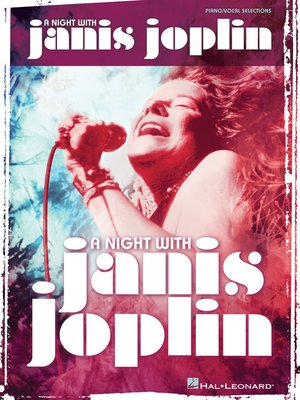 cover image of A Night with Janis Joplin Songbook
