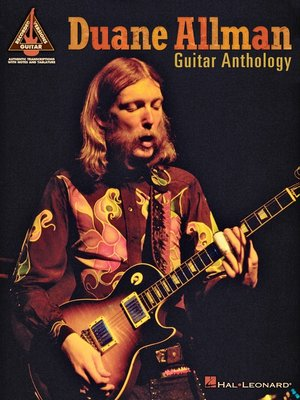 cover image of Duane Allman Guitar Anthology (Songbook)