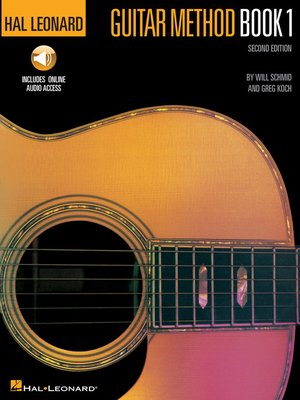 cover image of Hal Leonard Guitar Method Book 1 with Audio