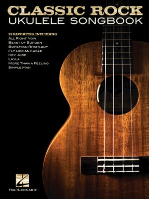 cover image of Classic Rock Ukulele Songbook