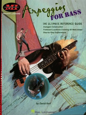 cover image of Arpeggios for Bass (Music Instruction)