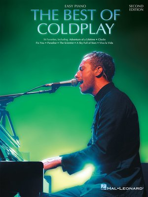 cover image of The Best of Coldplay for Easy Piano