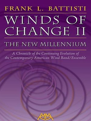 cover image of Winds of Change II--The New Millennium
