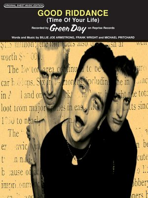 cover image of Good Riddance (Time of Your Life) Sheet Music