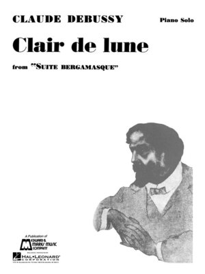 cover image of Claire de Lune Sheet Music