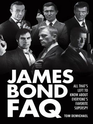 cover image of James Bond FAQ