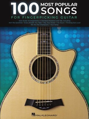 cover image of 100 Most Popular Songs for Fingerpicking Guitar