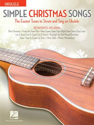 cover image of Simple Christmas Songs