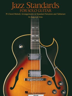 cover image of Jazz Standards for Solo Guitar (Songbook)