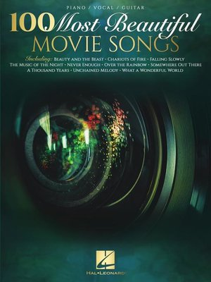 cover image of 100 Most Beautiful Movie Songs Songbook
