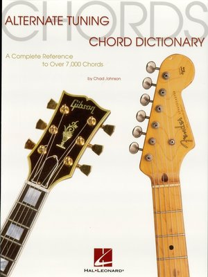 cover image of Alternate Tuning Chord Dictionary