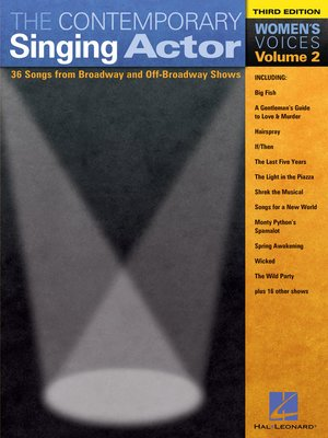 cover image of The Contemporary Singing Actor