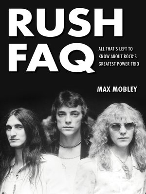 cover image of Rush FAQ