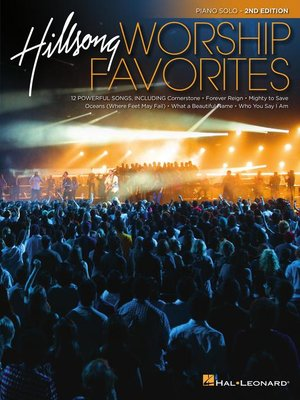 cover image of Hillsong Worship Favorites Piano Songbook