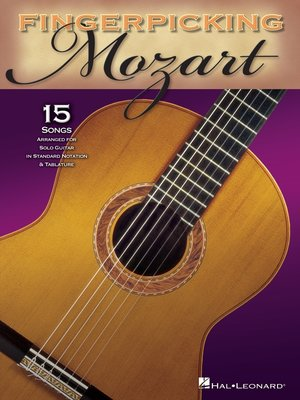 cover image of Fingerpicking Mozart (Songbook)