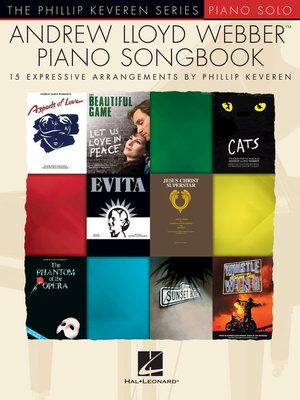 cover image of Andrew Lloyd Webber Piano Songbook
