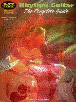 cover image of Rhythm Guitar (Guitar Instruction)