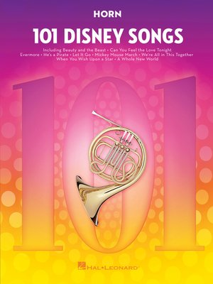 cover image of 101 Disney Songs for Horn