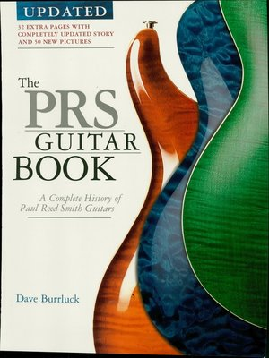 cover image of The PRS Guitar Book