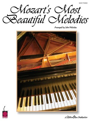 cover image of Mozart's Most Beautiful Melodies (Songbook)