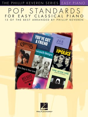 cover image of Pop Standards for Easy Classical Piano