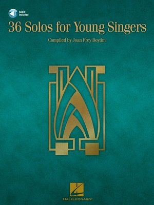 cover image of 36 Solos for Young Singers