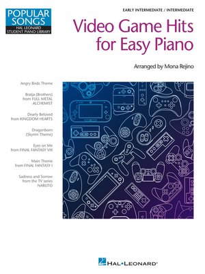 cover image of Video Game Hits for Easy Piano