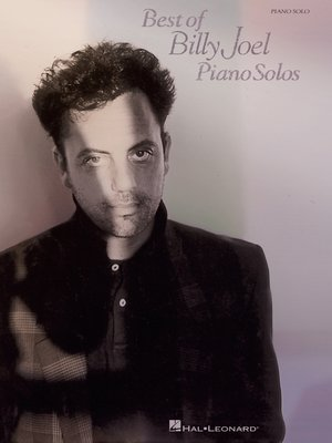 cover image of Best of Billy Joel Piano Solos (Songbook)