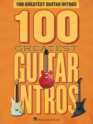 cover image of 100 Greatest Guitar Intros Songbook