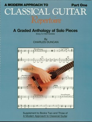 cover image of A Modern Approach to Classical Repertoire--Part 1 (Music Instruction)