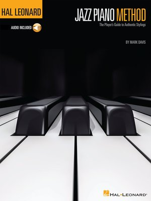 cover image of Hal Leonard Jazz Piano Method