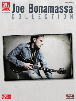 cover image of Joe Bonamassa Collection (Songbook)