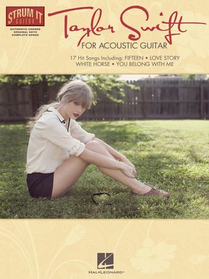 cover image of Taylor Swift for Acoustic Guitar (Songbook)